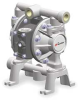 Air Operated Diaphragm Pump,3/4 Inlet -- 2UV61 - Image