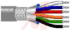 Cable; 50 cond; 22 AWG; Strand (7X30); Foil+braid shielded; Chrome jkt; 100 ft. -- 70005310 -- View Larger Image