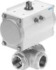 Ball valve actuator unit -- VZBM-A-3/8
