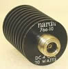 10 dB, Coaxial Power Attenuator -- Narda 766-10