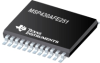 MSP430AFE251 16-bit Ultra-Low-Power Microcontroller, 16KB Flash, 512B RAM, 1x SD24 -- MSP430AFE251IPW - Image