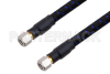 1.0mm Male to 1.0mm Male Precision Cable 12 Inch Length Using PE-TC110 Coax, RoHS -- PE3TC1220-12 -- View Larger Image