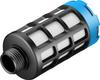 Pneumatic muffler -- U-1/2-20 -Image