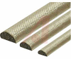 RFI Shielding Gasket, D-Shape, Cuni Cond. Surf, 0.005 - 0.010 Ohm/Lin. In. -- 70029202