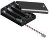 3 AAA Cell Densi-Pak Battery Holder with PC Connector -- 2484CN