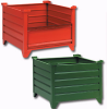 CORRUGATED STEEL CONTAINERS WITH 24in. INSIDE HEIGHT -- H600-423