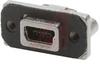 connector,rugged i/o,usb type mini b,right angle,single port -- 70144951 - Image