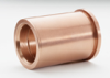 Bronze-Plated Shoulder Bushing -- Inch Series