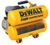 DEWALT 1.1 HP Electric 4 gal Compressor -- Model# D55153