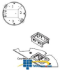 Legrand - Wiremold CRFB Series Communication Device Plate.. -- CRFB-RT