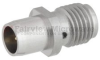 Slide-On BMA Plug to SMA Female (Jack) Adapter, Passivated Stainless Steel Body, 1.15 VSWR -- FMAD1108 - Image