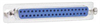 Reversible Hardware Molded D-Sub Cable, DB37 Female / Female, 2.5 ft -- CRMN37FF-2.5 -Image