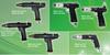 Pneumatic Handheld Control Screwdriver, Pistol Grip Design -- MINIMAT