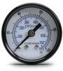0-100 psi / 0-700 kPa Pressure Gauge with 1.5 inch mechanical dial -- G15-BD100-8CB - Image