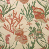 Shells and Seahorse Tapestry Fabric -- R-Sebastian