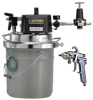 Diaphram Pump Spray Outfit -- DVP Pail Conventional Outfit, Agitator