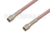Reverse Polarity SMA Male to Reverse Polarity SMA Male Cable 48 Inch Length Using RG142 Coax -- PE34750-48 -Image