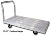 ALUMINUM PLATFORM TRUCK -- HSDD-3060