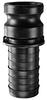 Polypropylene Part E Male Adapter x Hose Shank -Image