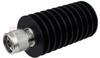 N Male (Plug) Termination (Load) 50 Watts To 8.5 GHz, Heatsink Body, 1.3 VSWR, 5 KWatts Peak Power -- ST8N-50 -Image