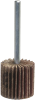 Merit Super Finish AO Coarse Steel Shank Mini Flap Wheel -- 08834130761 -Image