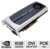 PNY VCQ6000-PB Quadro 6000 Fermi Graphics Card - 6GB, GDDR5, -- VCQ6000-PB