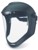 Bionic Faceshields - polycarbonate visor, anti-fog/hardcoat > COLOR - Black matte > LENS - Clear > UOM - Each -- S8510 -- View Larger Image