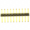 Rectangular Connectors - Headers, Male Pins -- S9014E-10-ND