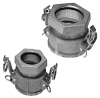 Cast Aluminum Compression Quick Couplers - BC