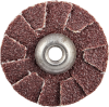 Merit AO Coarse Grit Overlap Slotted Disc -- 8834184019 - Image