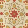 Floral Frame Suzani Fabric -- K-Jennifer -- View Larger Image