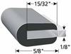 Rubber Edge Trim -- X1012-Image
