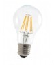 A19 Clear LED Filament Bulb - 6W - Dimmable - 2700K -- LED-15010 -Image