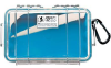 Pelican 1050 Micro Case - Clear with Blue Liner -- PEL-1050-026-100 -Image