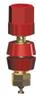 Hex Head Binding Post 8-32 Thread Red -- 4096