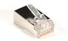CAT5e Shielded Modular Plug, RJ-45, 25-Pack -- FMTP5ES-25PAK