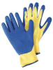 Cut Resistant Gloves,Yellow/Blue,L,PR -- 4TXL5
