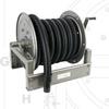 Manual Rewind Industrial Vacuum Reel -- VAC4000