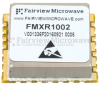 100 MHz Free Running Reference Oscillator in 0.9 inch SMT (Surface Mount) Package, Internal Ref., Phase Noise -155 dBc/Hz -- FMXR1002 - Image