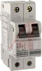 Circuit Breaker;Therm/Mag;Hndl;Cur-Rtg 1A;DIN Rail;2 Pole;Screw Snap;D -- 70076982