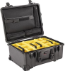 Pelican 1560SC Studio Case with Padded Dividers - Black | SPECIAL PRICE IN CART -- PEL-1560-007-110 -- View Larger Image