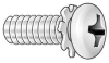 Mach Screw,Pan,4-40 x 1/4 L,PK 50 -- 1ZE85