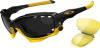 Oakley Livestrong Jawbone Sunglasses with Polished Black -- OK-04-211