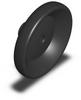Duroplastic Handwheel w/o Handle - SS Hub - 100mm Dia - 10mm Ream -- 06288-3140X14