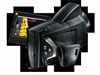 The thermal imager in a flexible camcorder design with rotating handle and fold-out display -- 0563 0890 73
