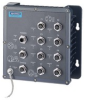EN50155 IP67 8-port M12 Managed Ethernet Switch with Wide Temperature -- EKI-6558TI-AE
