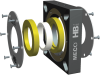 Screw Conveyor Seal -- HB Series -- View Larger Image