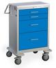 4 Drawer Tall Steel Anesthesia Cart -- UTGKU-43912-ELB