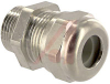 Cable Gland; Brass; 7 to 10.5 mm Diameter, Cord Range; PG; PG 11; 41 mm; 24 mm -- 70075242 - Image