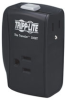 2 AC Outlets, Direct Plug-in Surge Suppressor with Single Line Ethernet or Modem/fax Surge Protection -- TRAVELER100BT - Image